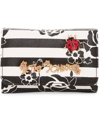 Betsey Johnson - Glam Garden Trifold Wallet - Lyst