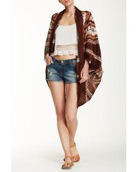 Raj - Batik Tie Dye Kimono - Lyst
