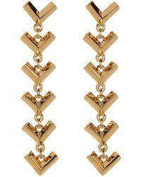 Botkier - Long V Linear Earrings - Lyst