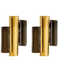 Botkier - Layered Stick Stud Earrings - Lyst