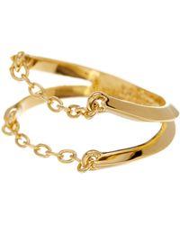 Botkier - Open Chain Ring - Size 7 - Lyst