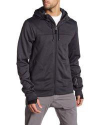 Bench - Thumbhole Zip Jacket - Lyst