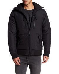 Bench - Armature Quilted Hooded Jacket - Lyst