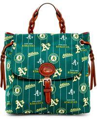 Dooney & Bourke - Athletics Nylon Flap Backpack - Lyst
