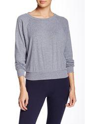 American Apparel - Raglan Pullover Sweatshirt - Lyst
