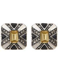 House of Harlow 1960 - Art Deco Stud Earrings - Lyst