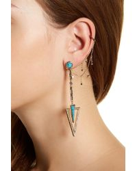 House of Harlow 1960 - South Point Statement Earrings - Lyst