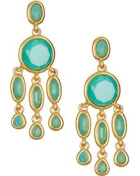 Karen Kane - Baja Chandelier Earrings - Lyst