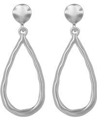 Karen Kane - Seven Seas Organic Open Teardrop Dangle Earrings - Lyst