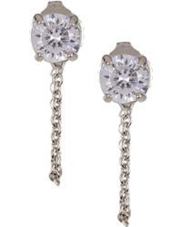 Vince Camuto - Chain Swag Earrings - Lyst