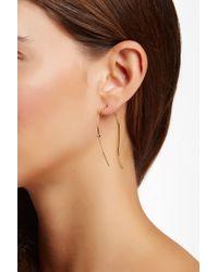 Vince Camuto - Organic Shape Crystal Hook Earrings - Lyst