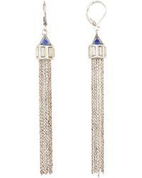 Vince Camuto - Long Chain Tassel Earrings - Lyst