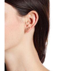 Vince Camuto - Asymmetrical Ear Jacket - Lyst