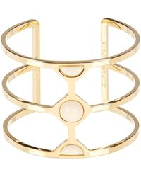 Vince Camuto - Milky Resin Cutout Cuff - Lyst