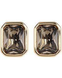 Cole Haan - Rhinestone Bezel Stud Earrings - Lyst