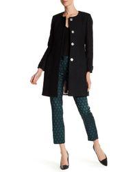 Closet - Wool Blend Swing Coat - Lyst