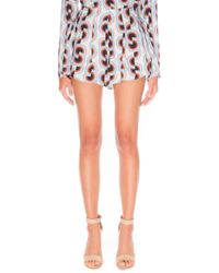 Cameo - C/meo 'empire State' Print Shorts - Lyst