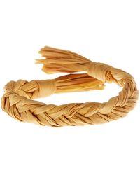 Hat Attack - Raffia Braid Bracelet - Lyst
