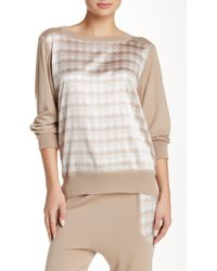 Thomas Wylde | Cashmere & Silk Blend Ingrained Jumper | Lyst