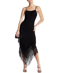 Again - Abba Fringe Dress - Lyst