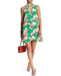 Peach Love California - Keyhole Shift Dress - Lyst
