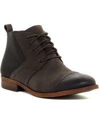 Franco Sarto - Halix Cap Toe Boot - Lyst