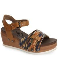 Otbt - 'danbury' Wedge Sandal (women) - Lyst