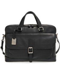 Frye - Genuine Leather Oliver Briefcase - Lyst