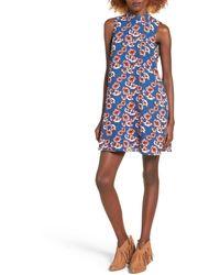 Mimi Chica - Floral Print Shift Dress - Lyst