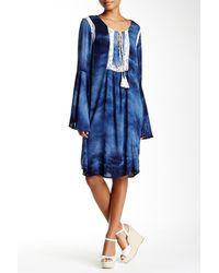 Scrapbook - Bell Sleeve Tunic Dress - Lyst