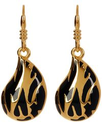 Diane von Furstenberg - Large Dew Drop Dangle Earrings - Lyst