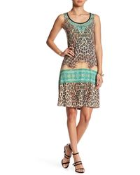 Sienna Rose - Casual Print Dress - Lyst