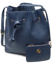 Erica Anenberg | Chelsea Leather Bucket Bag | Lyst