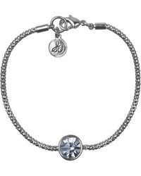Sam Edelman - Round Solitaire Bracelet - Lyst