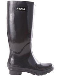 Roma - Emma Glossy Rain Boot - Lyst