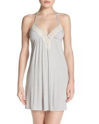 Underella By Ella Moss - 'collette' Polka Dot Chemise - Lyst