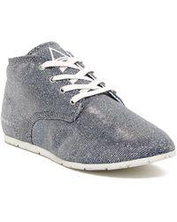 ELEVEN PARIS - Basglitter Mid Sneaker - Lyst