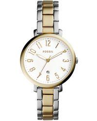 Fossil - 'jacqueline' Bracelet Watch, 36mm - Lyst