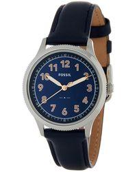 Fossil - Women's Avondale Leather Watch - Lyst