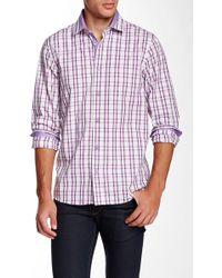 Emanuel Ungaro - Regular Fit Long Sleeve Plaid Shirt - Lyst