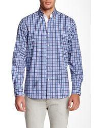 Emanuel Ungaro - Regular Fit Long Sleeve Plaid Print Shirt - Lyst