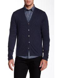 Zachary Prell - Blackfriars Long Sleeve Wool Blend Jumper - Lyst