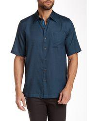 Nat Nast - Avedon Short Sleeve Regular Fit Shirt - Lyst
