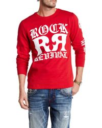 Rock Revival - Double-r Crew Neck Sweater - Lyst