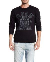 Rock Revival - Fleur De Lis Crew Neck Sweater - Lyst
