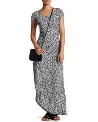 Fraiche By J - Lamic Printed Jersey Dress - Lyst