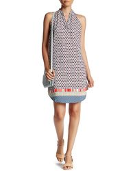 Fraiche By J - Henry Split Neck Dress - Lyst