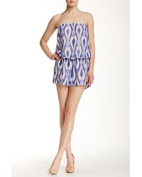 Sweet Pea By Stacy Frati | Strapless Romper | Lyst