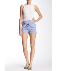 Dress Forum | Striped Mini Short | Lyst
