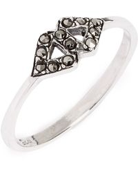TOPSHOP Stone Encrusted Ring